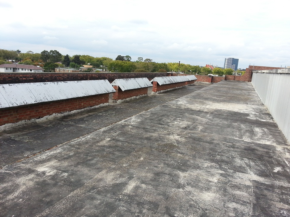 Before images of waterproofing (tanking) work conducted by Flex A Seal in a Melbourne suburb