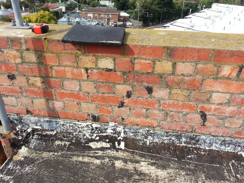 A before image of waterproofing (tanking) work conducted by Flex A Seal in a Melbourne suburb