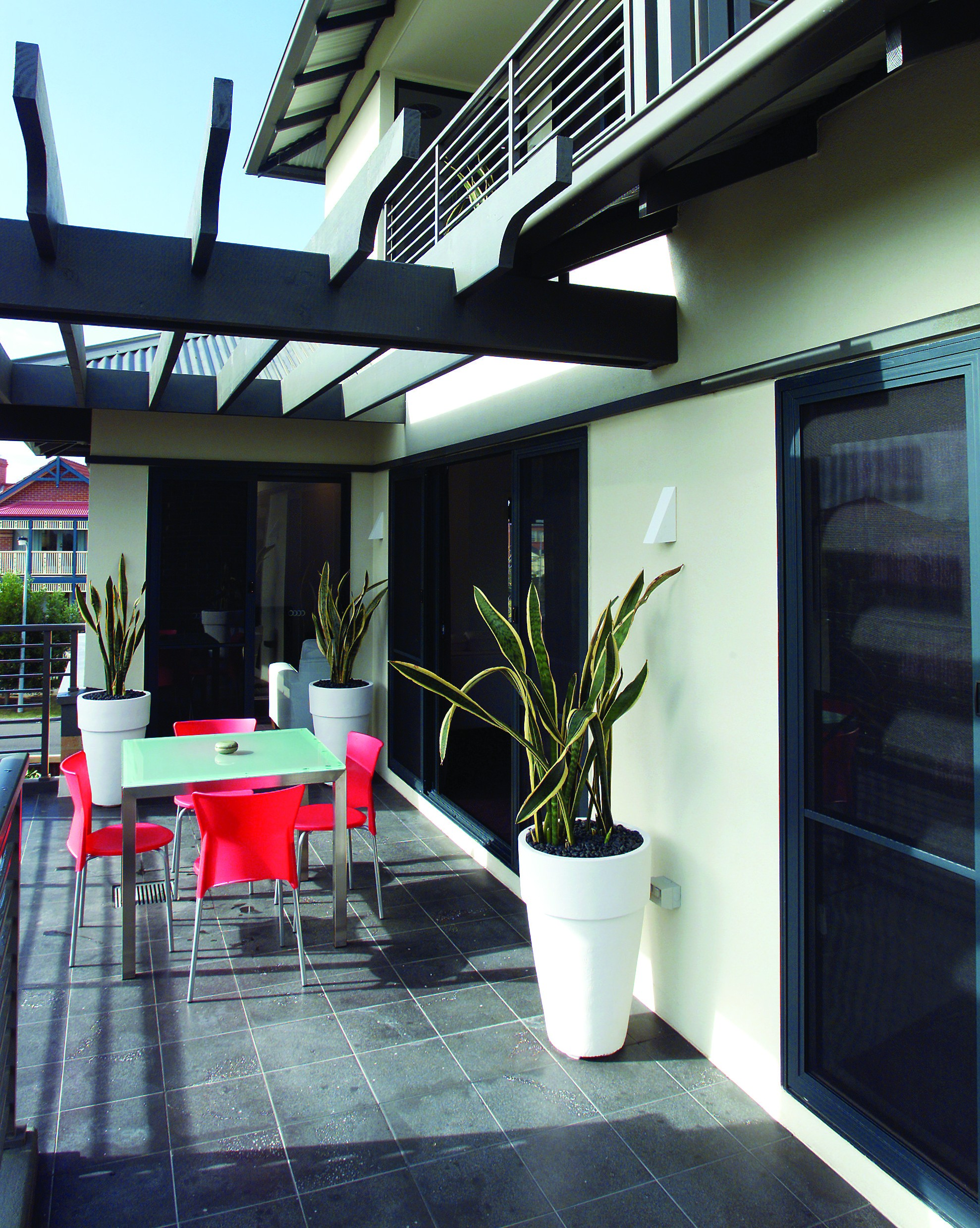 An image of deck waterpoofing work conducted by Flex A Seal in a Melbourne suburb