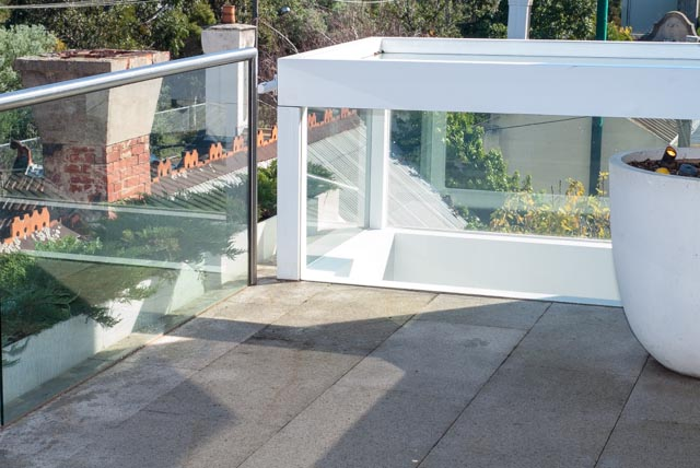 Images of balcony waterproofing work carried out by Flex A Seal in the Melbourne suburb of Armadale