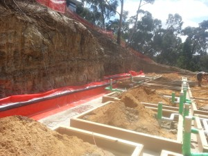 An image of waterpoofing work conducted by Flex A Seal in Lorne