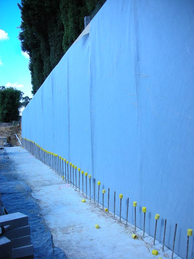 Waterproofing (tanking) work conducted by Flex A Seal in Melbourne