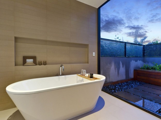 An image of bathroom waterproofing conducted by Flex A Seal in Melbourne for Blu Seven